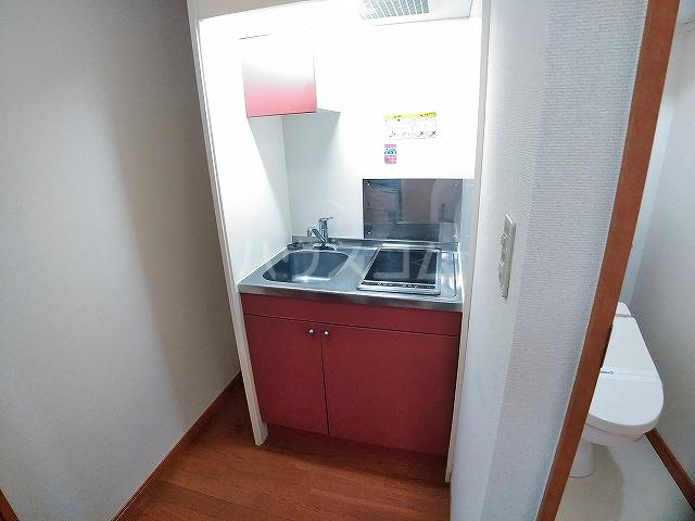 レオパレスエパティーク 202号室のキッチン