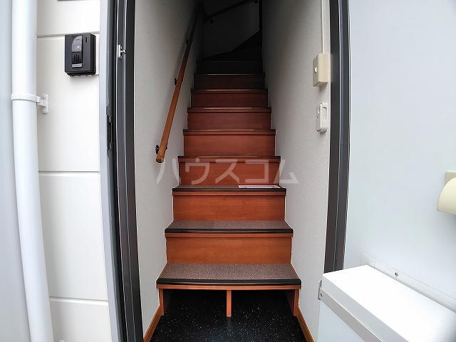 レオパレスエパティーク 202号室の玄関