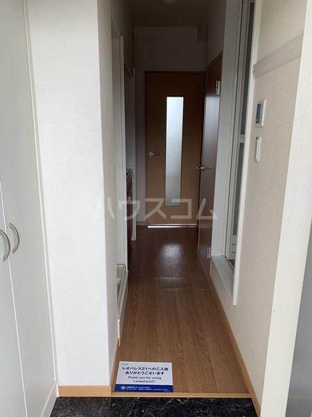 レオパレスバローネⅡ 309号室の玄関