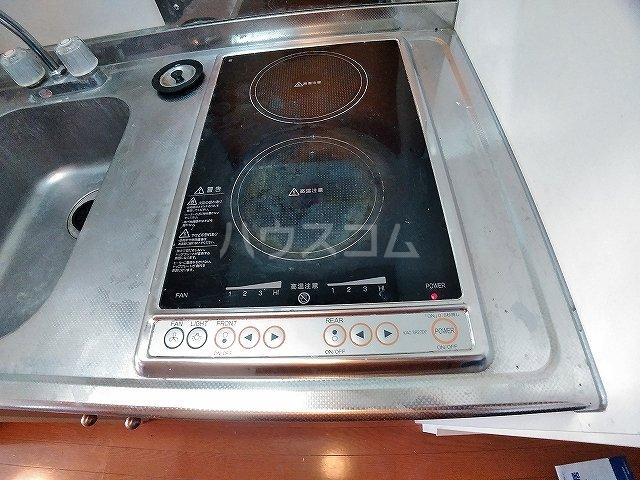 レオパレスピソⅡ 206号室のキッチン