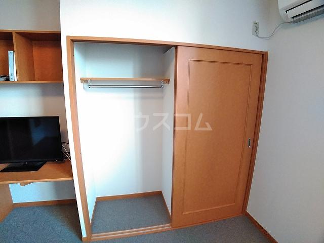レオパレスピソⅡ 206号室の収納