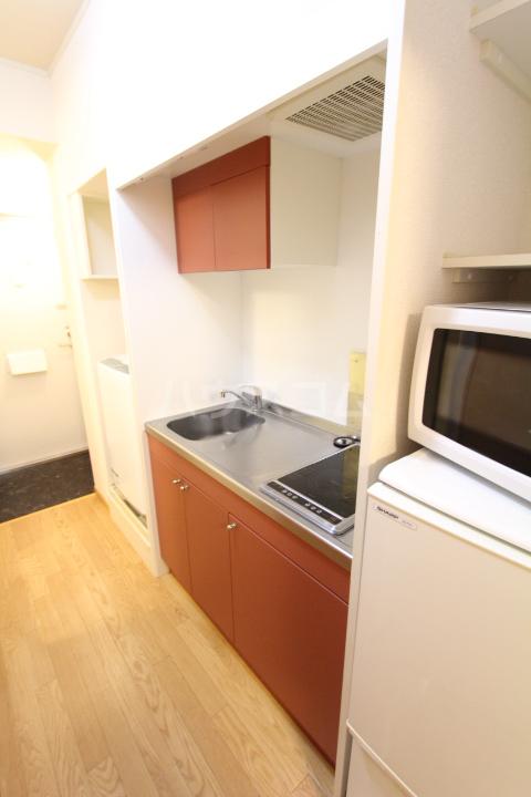 レオパレス月見 203号室のキッチン
