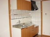 コンフォールK 101号室のキッチン