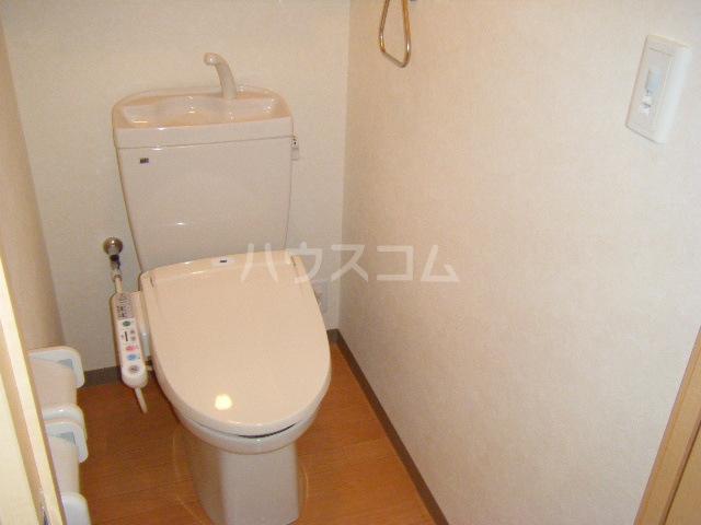グランディール コア 101号室のトイレ