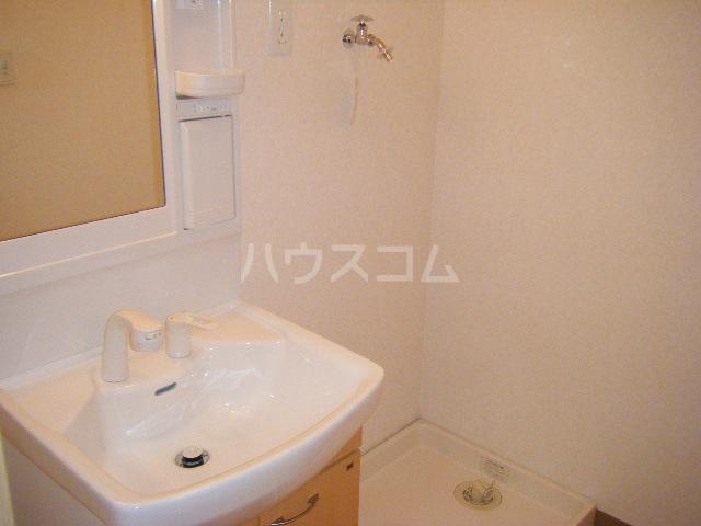 グランディール コア 101号室の洗面所