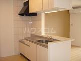 ル・リオン 00202号室のキッチン