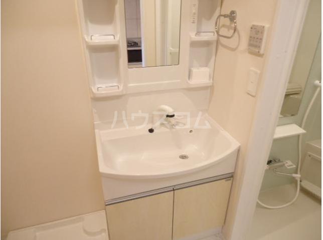 Sereno 205号室の洗面所