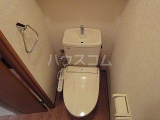 ルミナス・ウッド 00206号室のトイレ