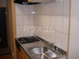 Illumina 105号室のキッチン