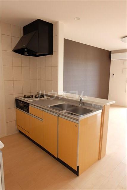オハナ マハロ 202号室のキッチン