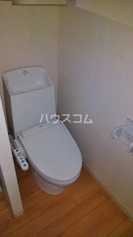 アリエッタ U 101号室のトイレ