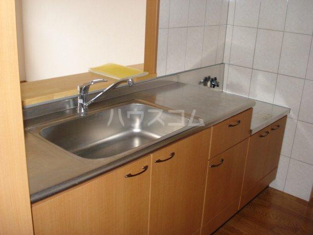 サンライズK 102号室のキッチン
