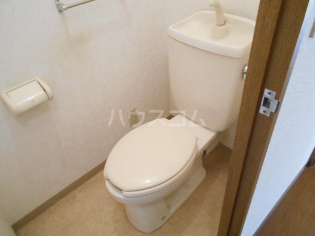 シテ・リヴェール 403号室のトイレ