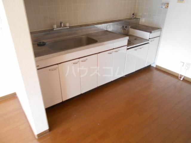 シテ・リヴェール 403号室のキッチン