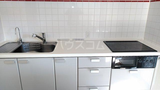 ライオンズスクエア浦和常盤レガリエ 109号室のキッチン