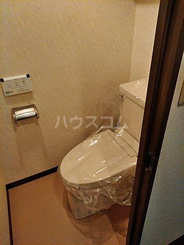 レクセル五反野 508号室のトイレ