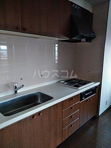 レクセル五反野 508号室のキッチン