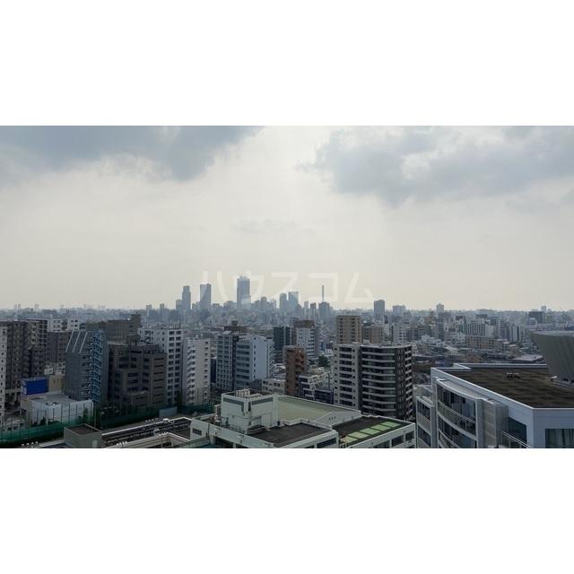 文京グリーンコートビュータワー本駒込 B1709号室の景色