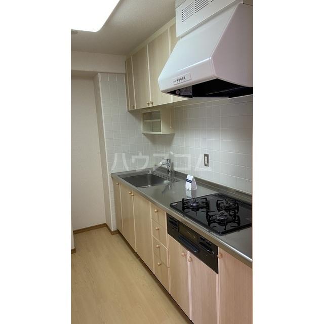 文京グリーンコートビュータワー本駒込 B1709号室のキッチン