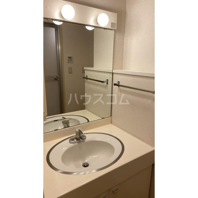 文京グリーンコートビュータワー本駒込 B1709号室の洗面所