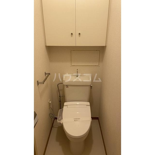 文京グリーンコートビュータワー本駒込 B1709号室のトイレ