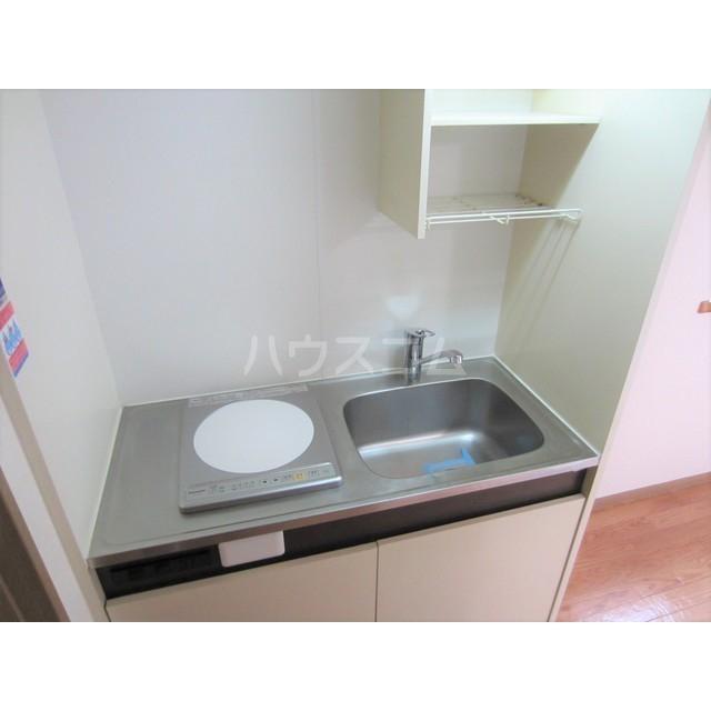 シティコート千駄木 203号室のキッチン