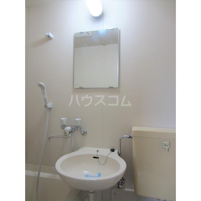 シティコート千駄木 303号室の洗面所