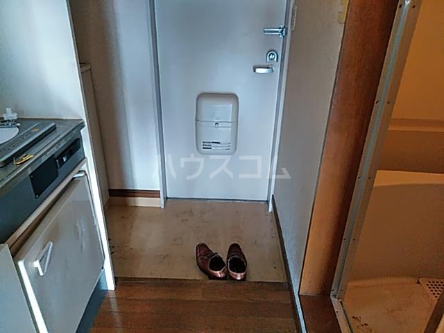グッドビューハイツ 0201号室の玄関