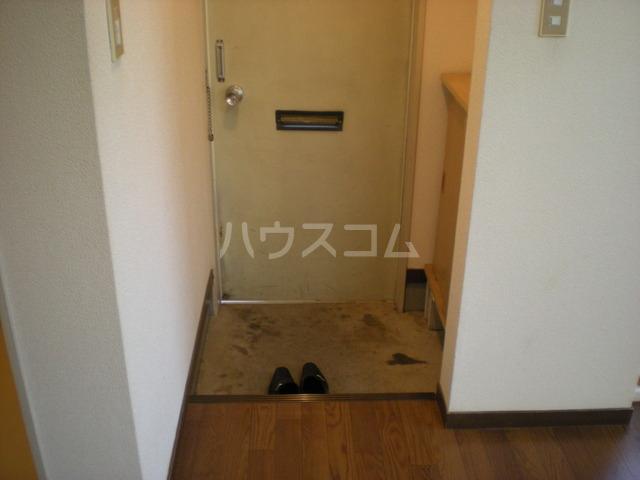 ハイツ寿A 202号室の玄関