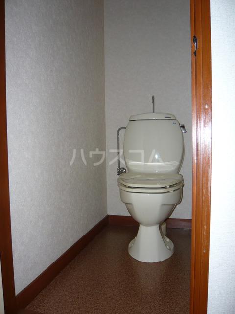 ビューハイツオリマNO.2 206号室のトイレ