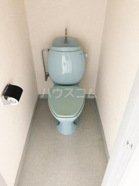 ビューハイツオリマNO.2 307号室のトイレ