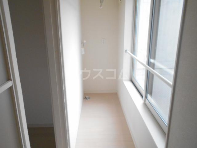 プレステージE Ⅱ TB1号室のバルコニー