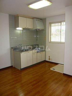 ハイツ寿B 106号室のキッチン