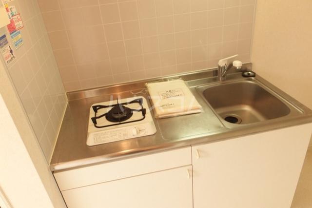 ベイハウスK 205号室のキッチン
