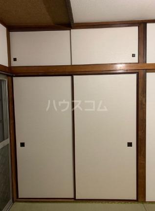 八景台荘 101号室の収納