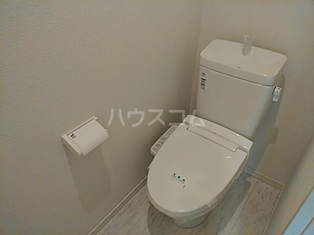 リバーチェ横浜東蒔田 204号室のトイレ