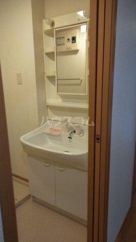 ピュアー双葉 01020号室の洗面所