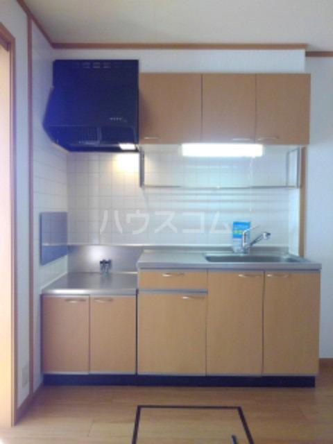ピュア ミキ B 101号室のキッチン