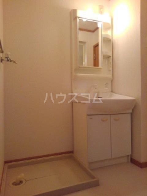 ピュア ミキ B 101号室の洗面所
