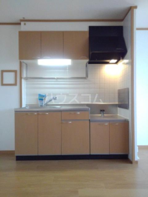 ピュア ミキ B 202号室のキッチン