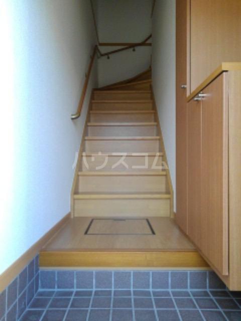 ピュア ミキ B 202号室の玄関