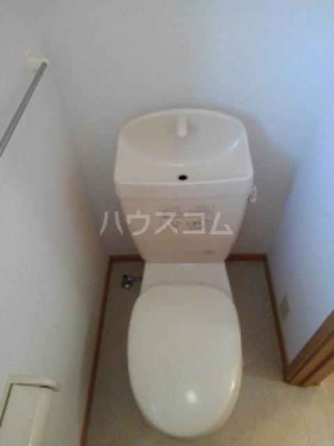 ピュア ミキ B 202号室のトイレ