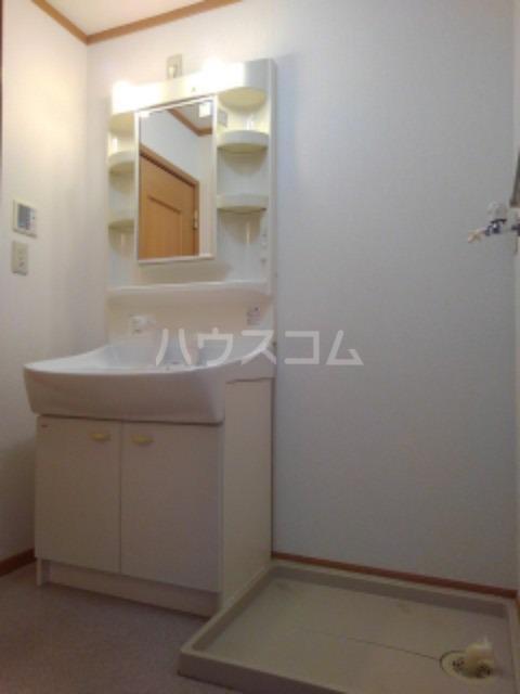 ピュア ミキ B 202号室の洗面所