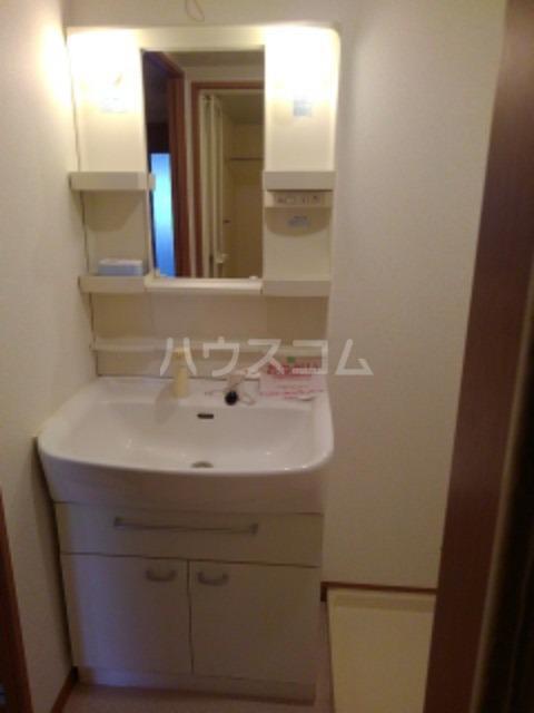 サン ビオラ 01030号室の洗面所