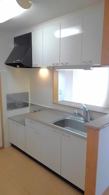 ジェルメⅡ 101号室のキッチン