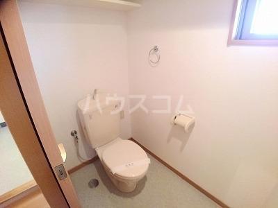 ヴィラ サンリット 101号室のトイレ