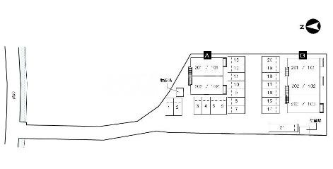 ネオメイト21 B 101号室の駐車場