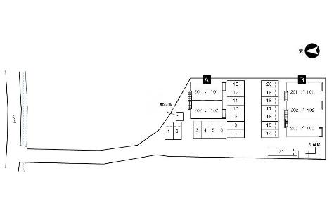 ネオメイト21 B 202号室の駐車場