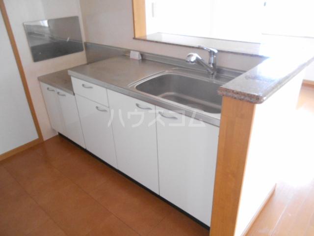グレイス 204号室のキッチン