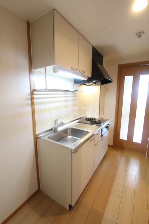 スピリットK 201号室のキッチン